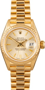 Pre-Owned Rolex Lady 69178 President