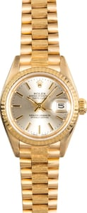Rolex Ladies President 69278 Bark Finish