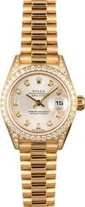 Rolex Ladies President 79158 Diamonds