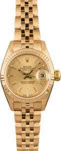 Pre Owned Rolex Ladies Datejust 79178 Honeycomb Jubilee
