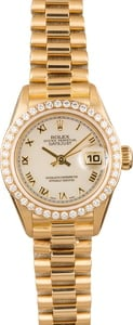 Pre-Owned Rolex Ladies President 79178 MOP Roman Dial
