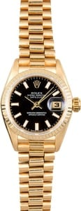 Rolex Ladies President 79178 Black