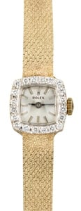 Rolex Ladies Cocktail Diamond Bezel