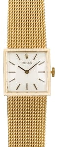 Rolex Lady Cocktail Watch 14K Gold