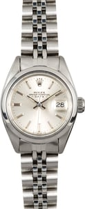 114161-1 Rolex Lady-Date 6916 Stainless Steel