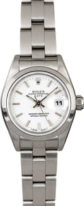 Rolex Lady Date 69160 White Dial