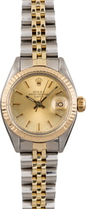 Used Rolex Date 6917 Champagne Dial