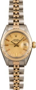 Pre-Owned Rolex Ladies Date 6917 Champagne Dial