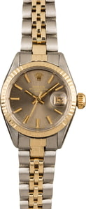 Pre-Owned Rolex Date 6917 Slate Index Dial