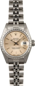 Rolex Lady Date 69240 Steel Jubilee Band