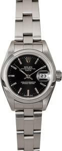 Rolex Ladies Date 79160 Steel Oyster
