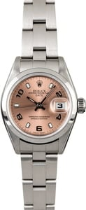 PreOwned Women's Rolex Date 79160 Salmon Dial