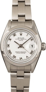 Ladies Rolex Date 79160 White