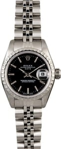 Rolex Ladies Date 79240 Black Dial