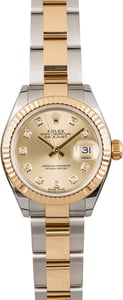 Pre Owned Rolex Lady-Datejust 279173 Two Tone Oyster