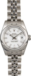 Rolex Lady Datejust 179160 White Dial