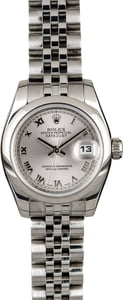 Rolex Lady Datejust 179160 Rhodium Roman