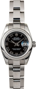 Rolex Lady-Datejust 179160 Black Roman