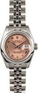 Rolex Lady-Datejust 179160 Pink 100% Authentic
