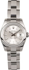Rolex Lady-Datejust 26 179160 Silver Index