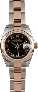 Rolex Lady Datejust 179161 Two Tone Everose Gold