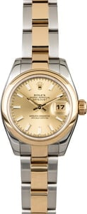 Rolex Lady Datejust 179163 Two Tone Oyster Band
