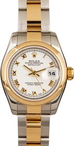 Used Rolex Lady Datejust 179163 Two Tone Oyster
