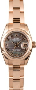 Rolex Datejust 179165 Rose Gold