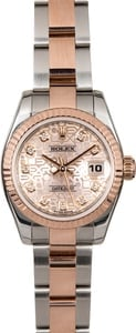 Rolex Lady Datejust 179171 Rose Gold Jubilee