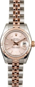 Rolex Lady Datejust 179171 Two Tone Everose