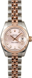 Rolex Datejust 179171 Pink Diamond Dial