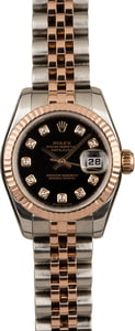 Pre Owned Rolex Datejust 179171 Black Diamond Dial