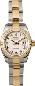 Ladies Rolex Datejust 179173 Two Tone Oyster