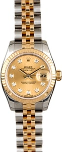 Rolex Ladies Datejust 179173 Two Tone Jubilee