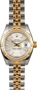 Rolex Datejust 179173 Silver Dial