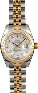 Rolex Lady Datejust 179173 MOP Diamond Dial