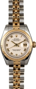 Ladies Rolex Datejust 179173 Two Tone Jubilee