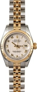 Rolex Datejust 179173 Ivory Pyramid Dial