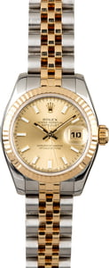 Rolex Lady Datejust 179173 Champagne Dial