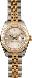 Used Rolex Lady Datejust 179173 White Dial