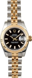 Rolex Datejust 179173 Black Index Dial