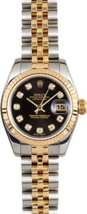 Rolex Lady-Datejust 179173 Black Diamond