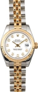 Rolex Lady-Datejust 179173 White Diamond