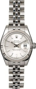 Rolex Lady Datejust 179174 Silver Luminescent Dial
