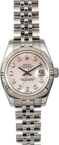 Rolex Ladies Datejust 179174 MOP Diamond Dial
