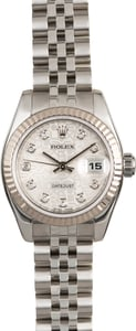 Lady Rolex Datejust Diamond Dial 179174
