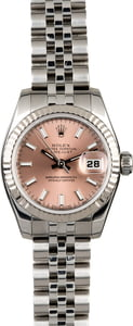 Rolex Lady Datejust 179174 Pink Dial