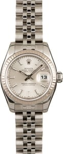 Rolex Lady-Datejust 179174 White Gold Bezel