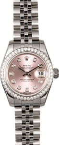 Rolex Ladies Datejust 179384 Diamonds