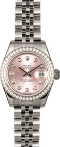 Rolex Lady-Datejust 179384 Diamond Bezel